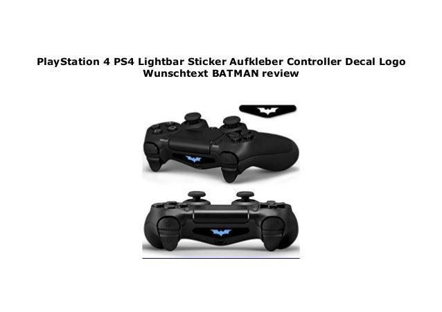 Playstation 4 Ps4 Lightbar Sticker Aufkleber Controller