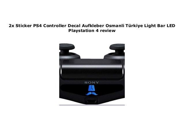2x Sticker Ps4 Controller Decal Aufkleber Osmanli T Rkiye