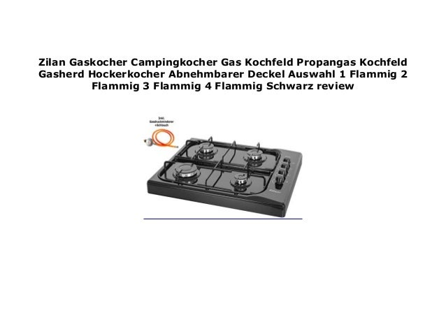 Campingkocher Gaskocher 1 flammig Gas Herd Kochfeld Gasherd Hockerkocher