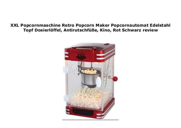 Mini Popcornmaschine Popcornautomat Popcorn Maker