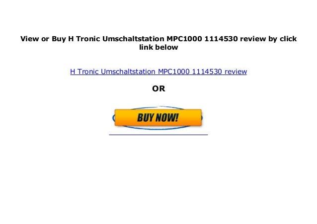 H-Tronic Umschaltstation MPC1000 1114530