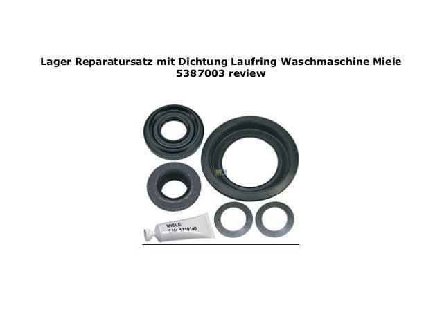 Lager-Reparatursatz mit Laufring OT 5387003 Miele