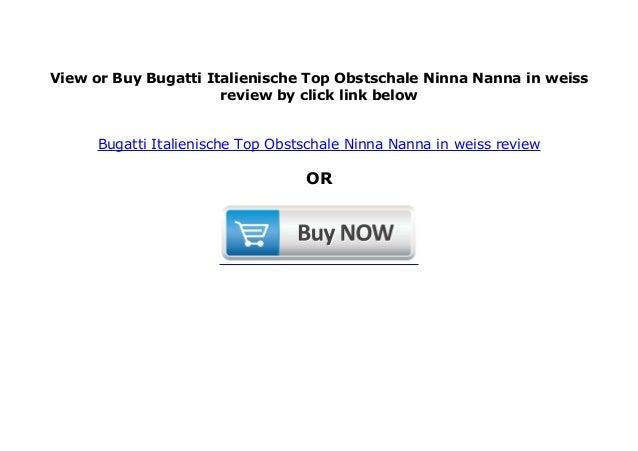 Bugatti Italienische-Top-Marke Designer ObstschaleNinna Nanna in gruen