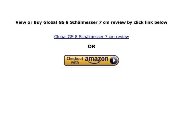 Global Schälmesser 7,0 cm GS-8