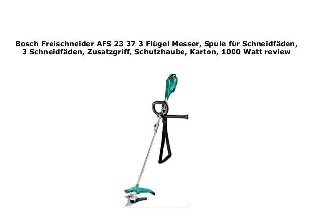 Bosch Freischneider Afs 23 37 3 Fl Gel Messer Spule F R Schneidf De