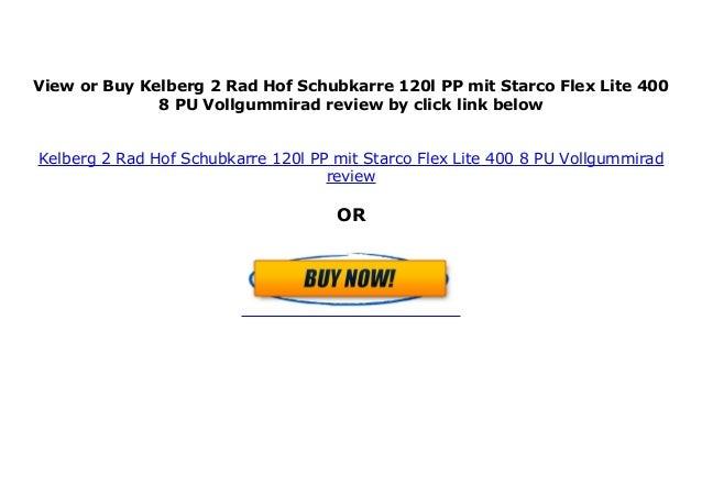 Kelberg Hof-Schubkarre 120l PP