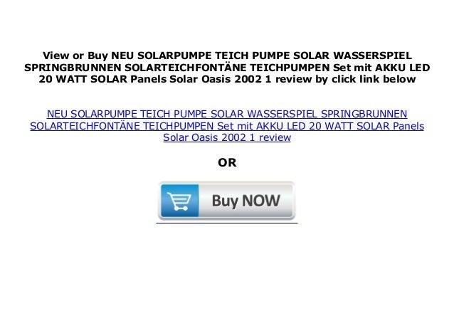 solarpumpe teich