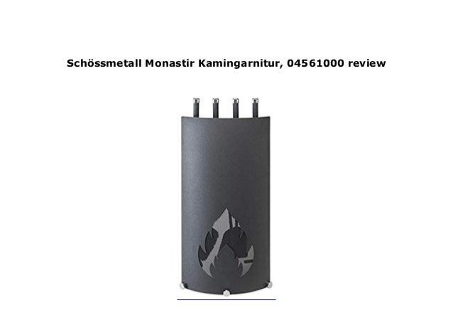 Sch/össmetall 04561000 Monastir Kamingarnitur