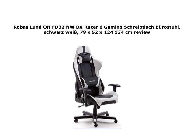 Robas Lund Oh Fd32 Nw Dx Racer 6 Gaming Schreibtisch B