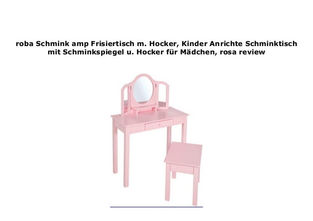 Roba Schmink Amp Frisiertisch M Hocker Kinder Anrichte Schmin