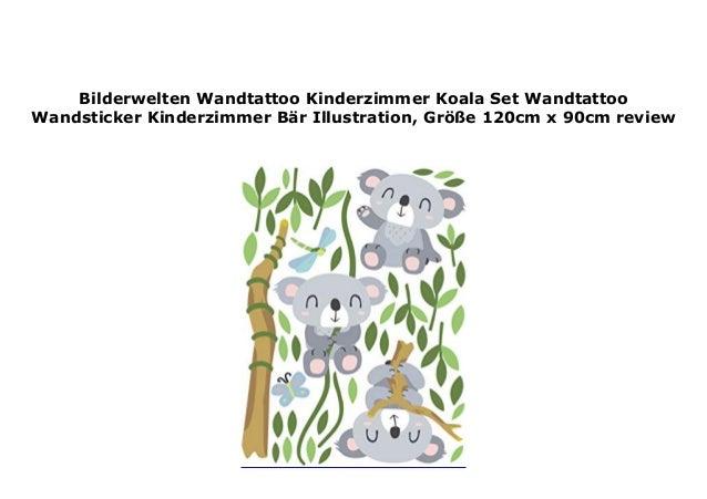 Bilderwelten Wandtattoo Kinderzimmer Koala Set Wandtattoo Wandsticker