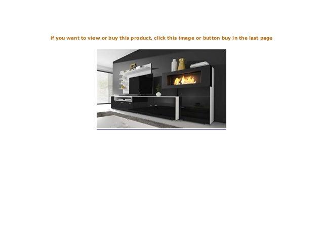 Home Innovation Moderne Wohnwand Tv Lowboard Esszimmer Mit Kamin B