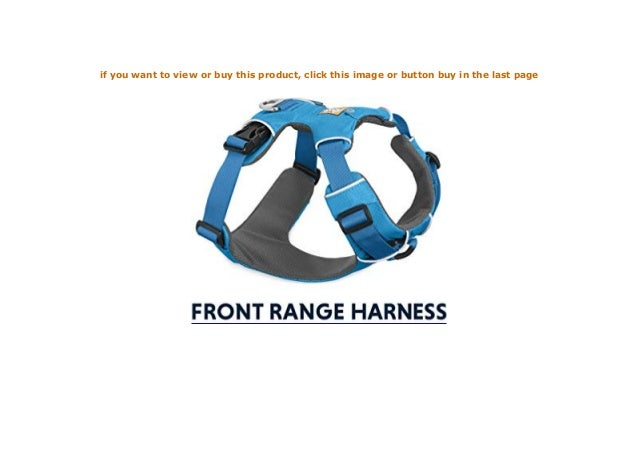 Front Range Geschirr Gr/ö/ßenverstellbar Ruffwear Ganztags-Hundegeschirr