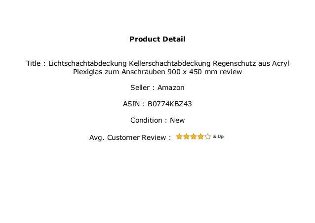 Lichtschachtabdeckung//Kellerschachtabdeckung//Regenschutz aus Acryl//Plexiglas zum Anschrauben 1100 x 550 mm