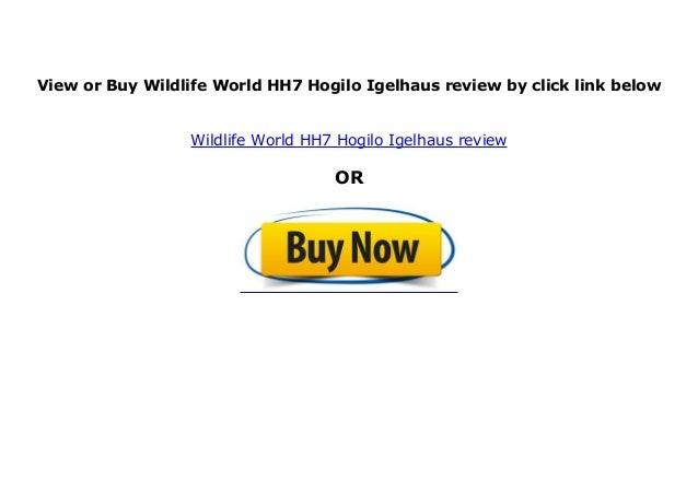 Wildlife World HH7 Hogilo Igelhaus
