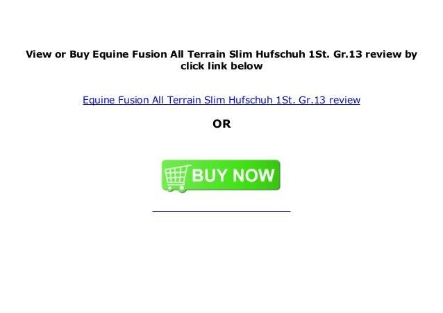 Equine Fusion All Terrain Slim Hufschuh 1St. Gr.8