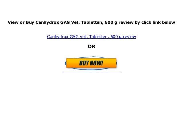 Canhydrox GAG Tabletten 600g