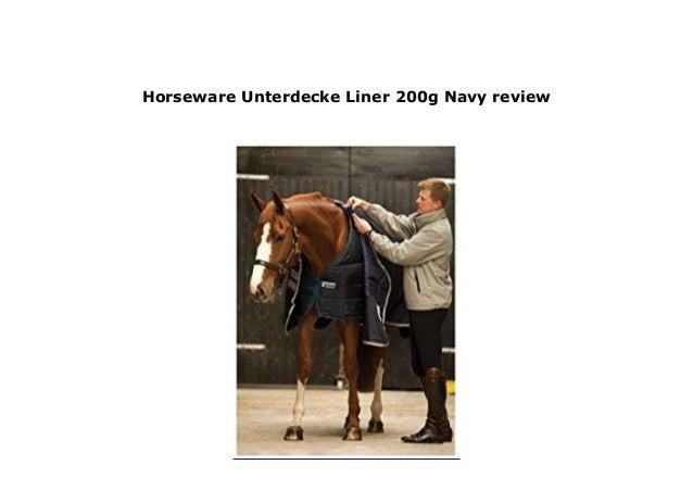 Navy Horseware Unterdecke Liner 200g