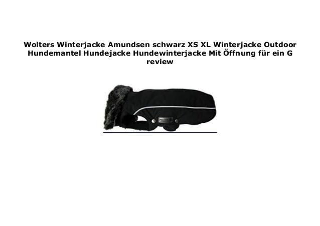 Wolters Winterjacke Amundsen schwarz XS XL Winterjacke