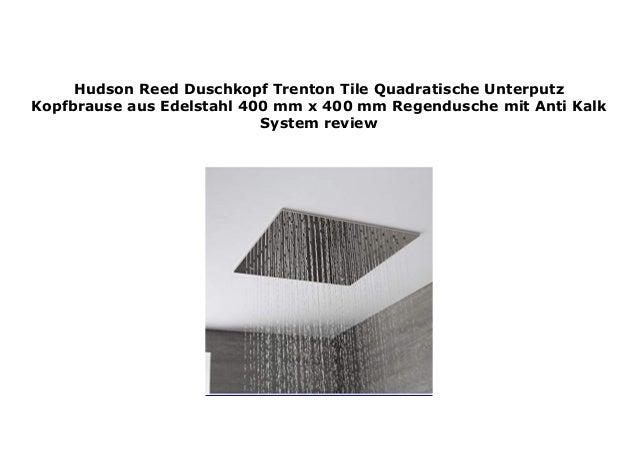 Hudson Reed Duschkopf Trenton Tile Quadratische Unterputz ...
