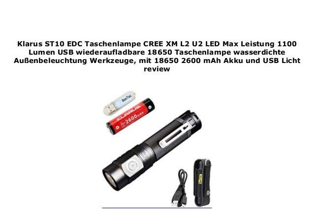 LED Lichter USB wiederaufladbare Taschenlampe wasserdichte Beleuchtung
