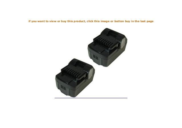 Batterie 14,4v 3000mah Hitachi 329083 329877 329901 330558 334419