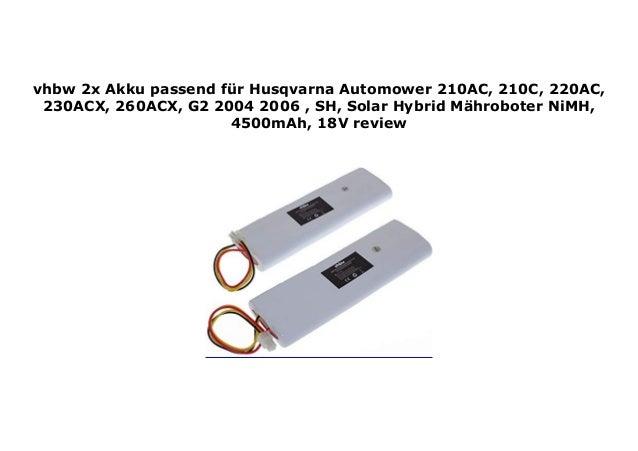 Akku für Husqvarna Automower Solar Hybrid 4500mAh 18V NiMH