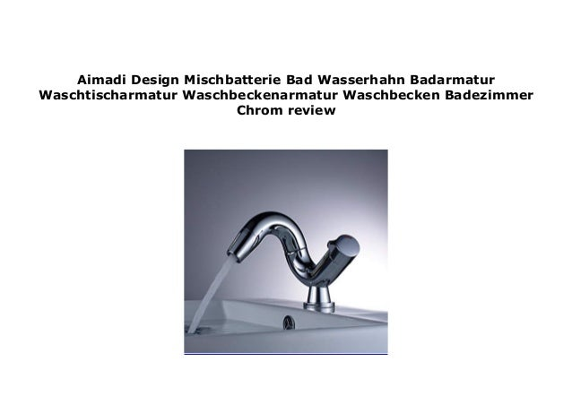 Waschtischarmatur Wasserhahn Waschbecken Badarmatur Badezimmer Mischbatterie