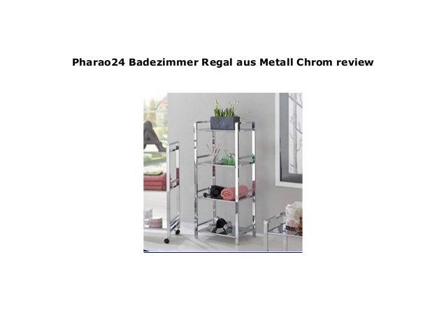 Pharao24 Badezimmer Regal aus Metall Chrom review