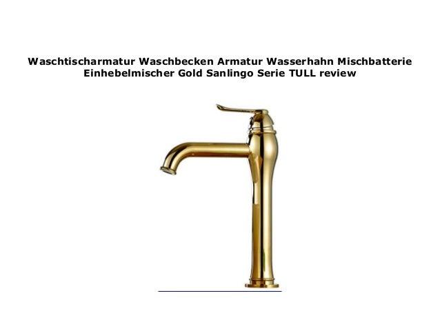 Waschbecken Wasserhahn Badarmatur Mischbatterie Einhandmischer Waschtischarmatur