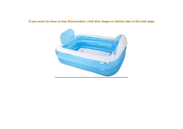 PIGE Tubble Aufblasbare Badewanne Erwachsene Gr e Portable Home Spa,…