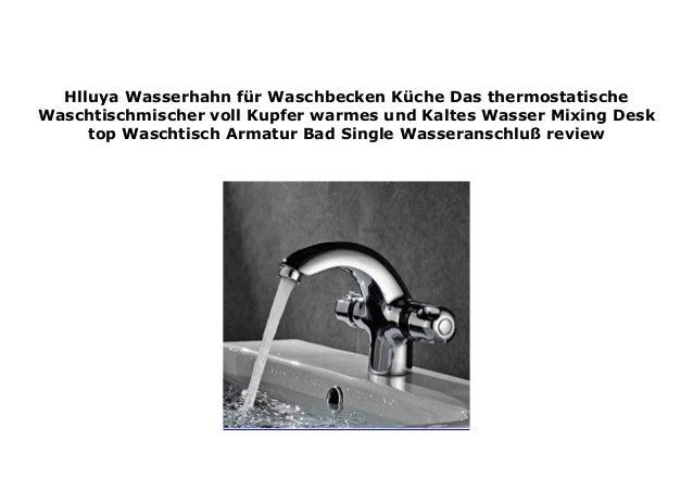 Hlluya Wasserhahn f r Waschbecken K che Das ...
