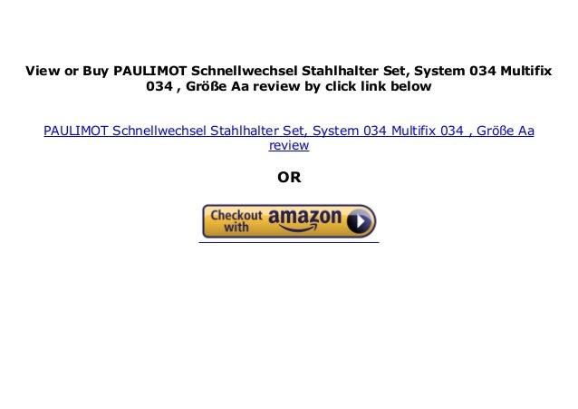 """PAULIMOT Schnellwechsel-Stahlhalter-Set Größe Aa System /""""Multifix/"""""""
