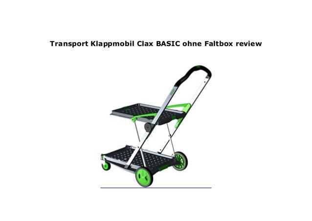 Clax Transport Klappmobil