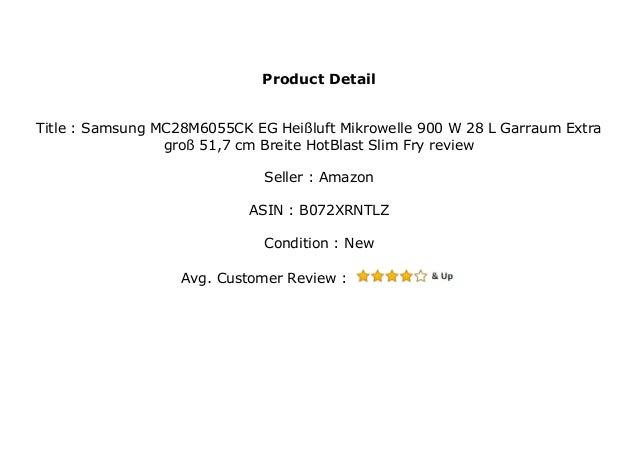 SAMSUNG MC28M6055CK//EG Mikrowelle 900 Watt