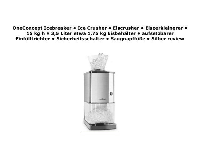 Silver or Black black Ice Crusher