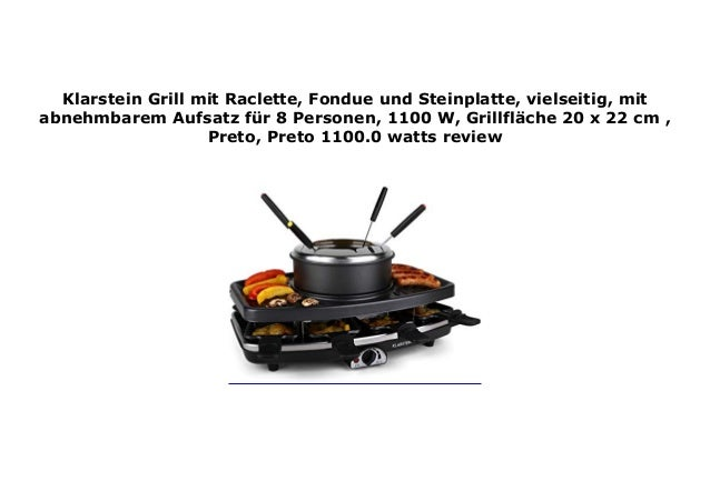 Raclette mit fondue