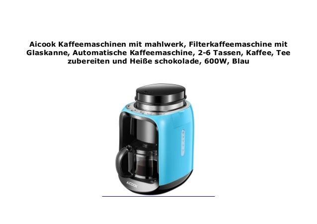 AICOOK/_KAFFEEMASCHINEN MIT/_MAHLWERK
