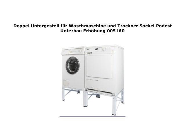 unterbau für waschmaschine