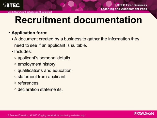 recruitment documentation The recruitment and selection process must be fully documented, reviewed, and  approved before a proposed appointment will be acted upon.