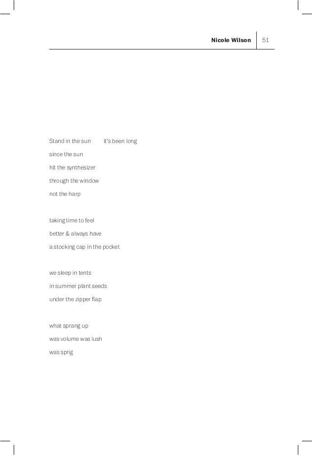 Columbia Poetry Review 27 Manuscript