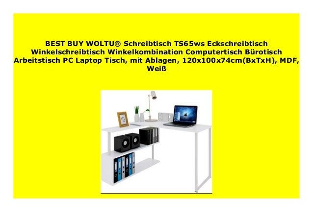 Big Sale Woltu Schreibtisch Ts65ws Eckschreibtisch