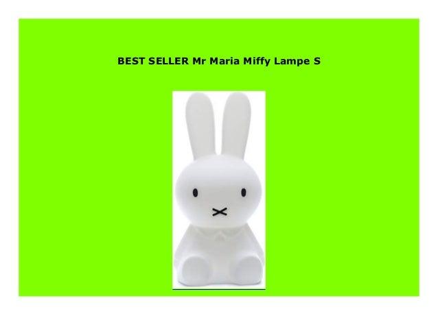 Mr Maria Miffy Lampe S
