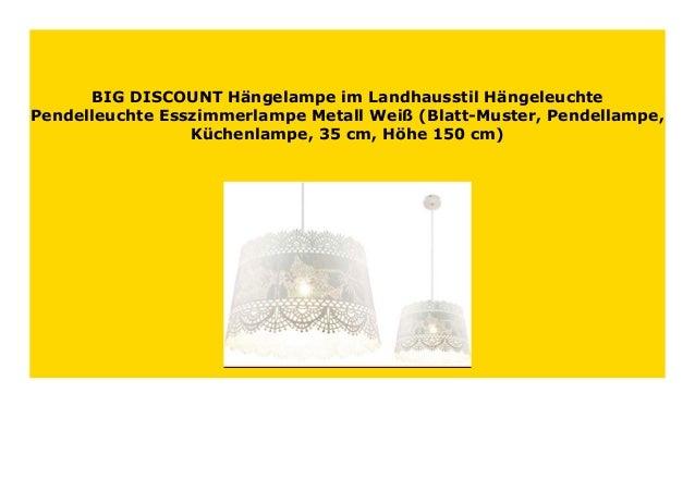 Landhausstil Esszimmerlampen