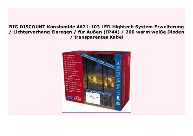 Big Sale Konstsmide 4621 103 Led Hightech System Erweiterung