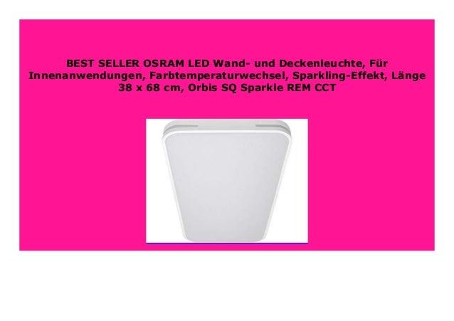 Best Buy Osram Led Wand Und Deckenleuchte F R Innenanwendungen