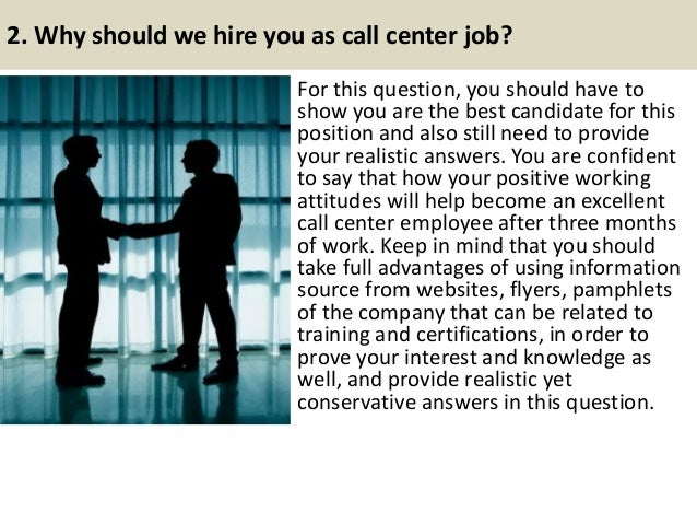 Question And Answer For Call Center Interview Pictures