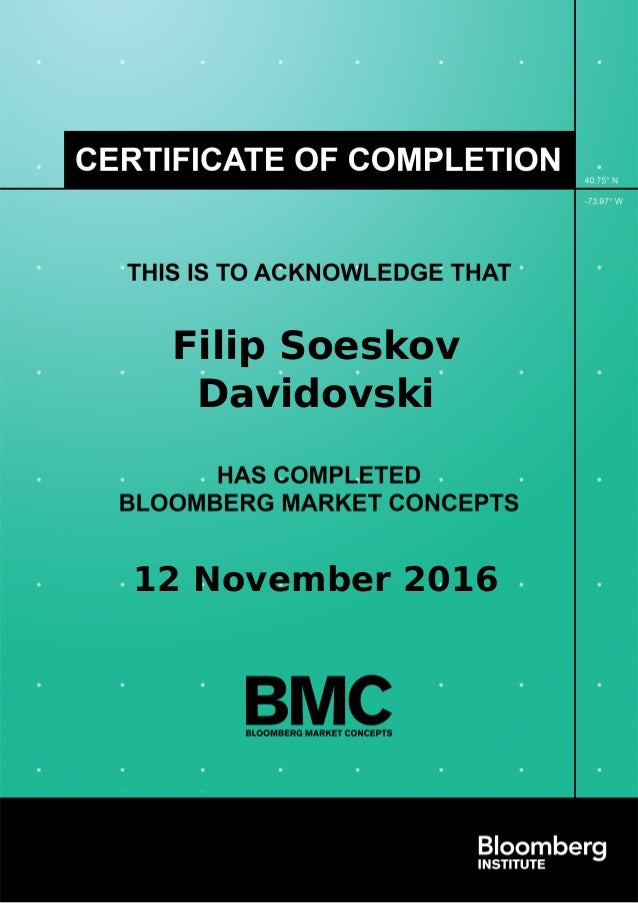 diploma filip soeskov davidovski bloomberg market concepts nov  filip soeskov davidovski 12 2016 powered by tcpdf tcpdf org