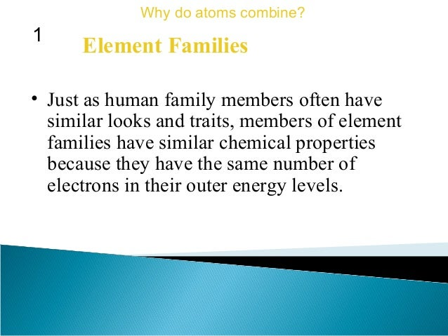 Why Do Members Of A Group Have Similar Properties