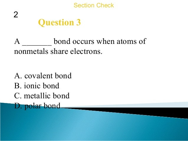 Section B Ionic Bonds Worksheet: 8th Grade   Chapter 16   Atomic Structure and Chemical Bonding,